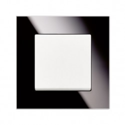 Rámeček ABB SOLO CARAT černé sklo