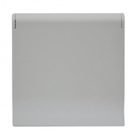 Zásuvka Future Linear studio bílá, bez rámečku