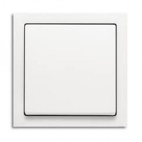 Zásuvka Future Linear studio bílá, včetně rámečku