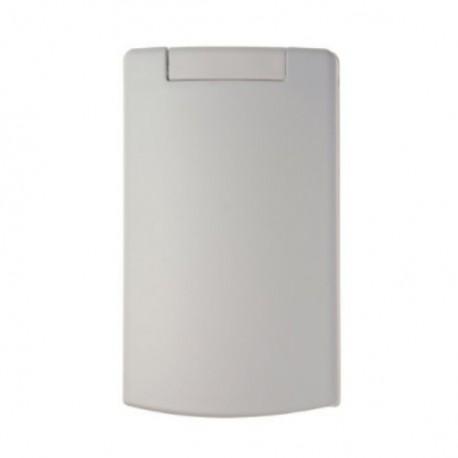 Zásuvka celoplošná plastová - bílá, nový typ